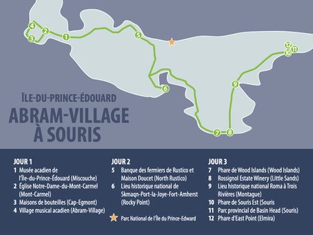 PRINCE EDWARD ISLAND ABRAM-VILLAGE TO SOURIS