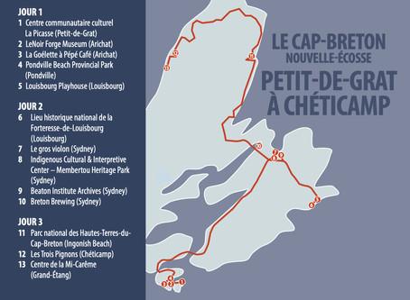 CAPE BRETON NOVA SCOTIA - PETIT-DE-GRAT TO CHÉTICAMP