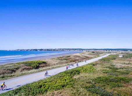 Découvrir la Baie Sainte-Marie à vélo