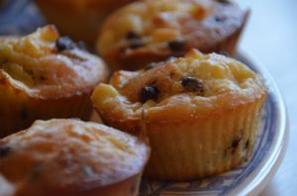 Muffin pomme chocolat