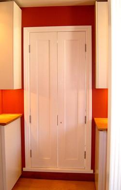 Bespoke double doors to terrace door