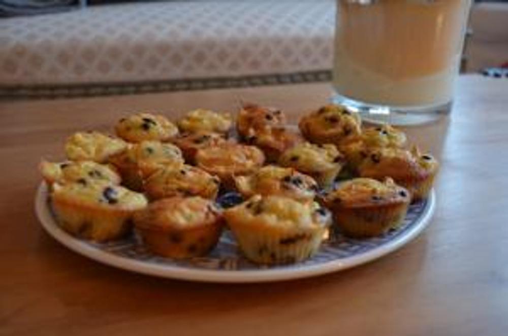 Plat de muffins