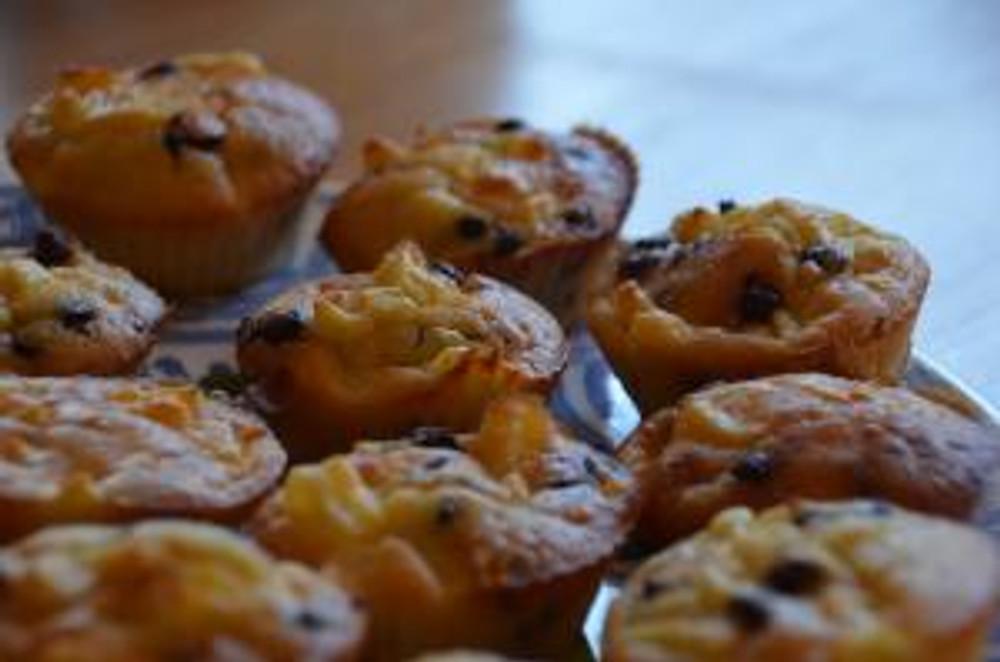 Détails des muffins