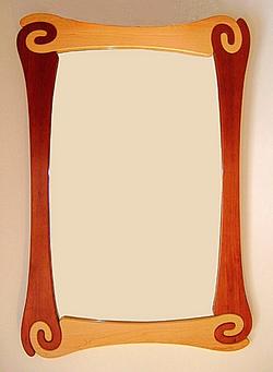 Jigsaw mirror 1 (2.5`x3.5`)