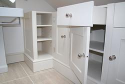 Bathroom cabinets (awaiting stone top)
