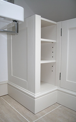 Bathroom cabinets (tops to follow)