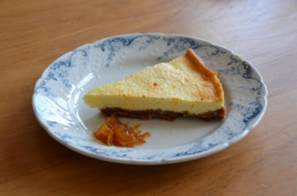 Cheesecake aux kumquats