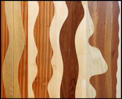 Curved glue lines in timber