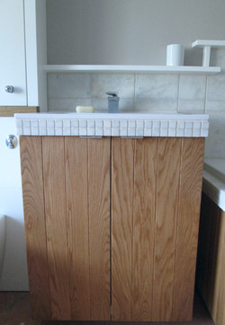 Oak fitted bathroom