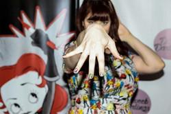 Stephanie & Espionage Nails