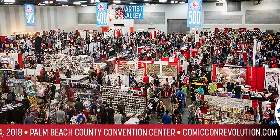 Comic Con Revolution - West Palm Beach