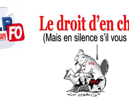 Prison de Liancourt : Le droit d'en Chier (Mais en silence s'il vous plait)