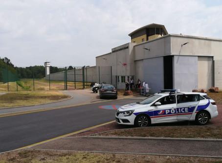 Prison de Roanne : Prise d'otage aux parloirs du centre de détention