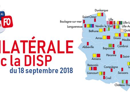Hauts-de-France : Bilatérale avec la DISP du 18 septembre 2018