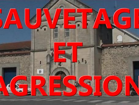 Prison de Chalons-en-Champagne : Sauvetage et Agression !