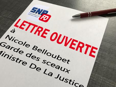 Lettre Ouverte à Nicole Belloubet, Garde des sceaux, Ministre de la Justice