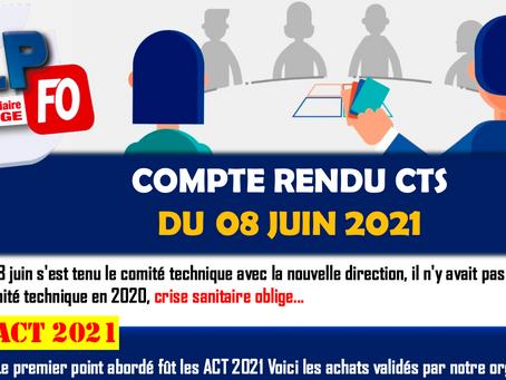 Prison de Maubeuge : Compte rendu CTS du 08 Juin 2021