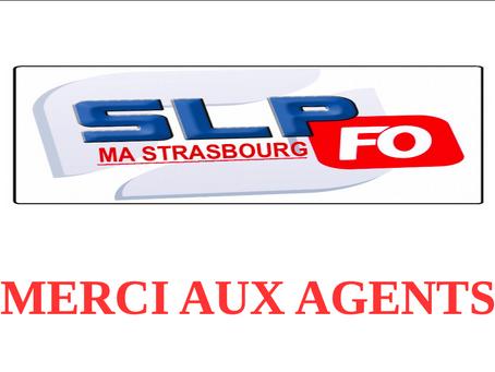 Prison de Strasbourg : MERCI AUX AGENTS