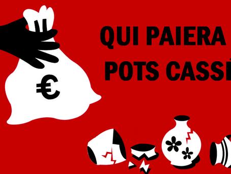 Prison de Condé-sur-Sarthe : La politique des vases communicants ! Qui paiera les pots cassés ?