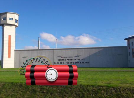 Prison d'Alençon-Condé-sur-Sarthe : QPR / Alerte à la bombe !