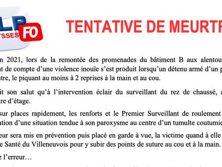 Prison d'Eysses : Tentative de meurtre !