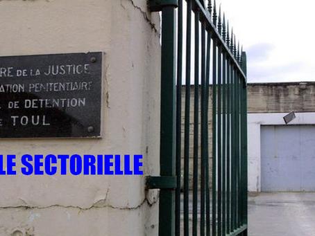 Prison de Toul : Fouille sectorielle