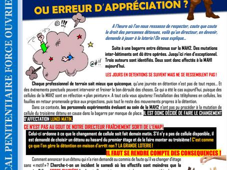 Prison de Beauvais : Caprice d'un jeune prince Ou erreur d'appréciation ?