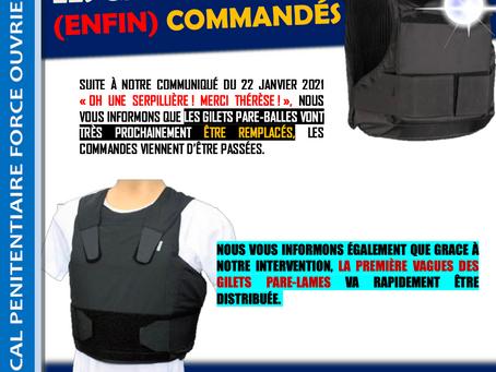 Prison de Beauvais : FLASH-INFO / Les gilets sont (enfin) commandés