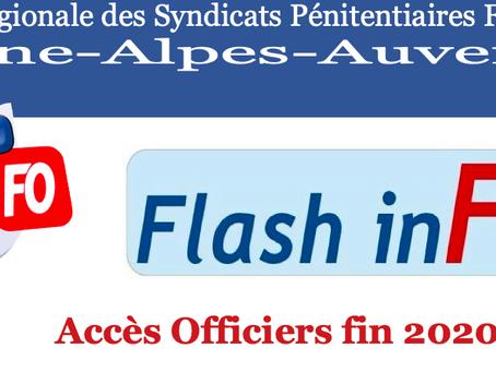 UISP Rhone-Alpes-Auvergne : Flash-inFO, Accès Officiers fin 2020