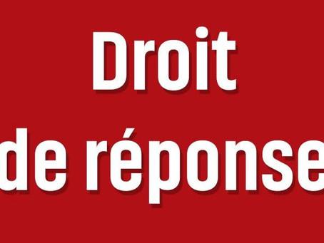Prison d'Agen : Droit de réponse à l'UFAP UNSA !