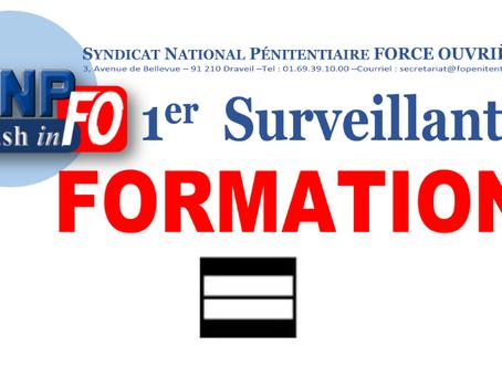 FORMATION 1er Surveillants