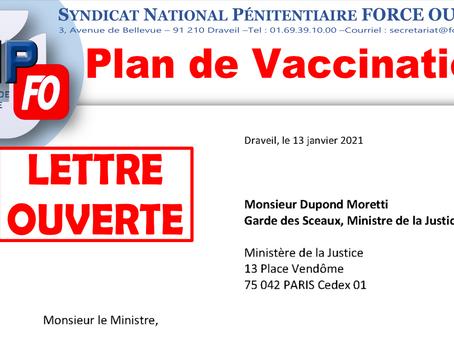 PLAN DE VACCINATION : Lettre Ouverte à Monsieur Dupond Moretti