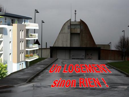 Prison de Meaux-Chauconin :  Un LOGEMENT sinon RIEN !
