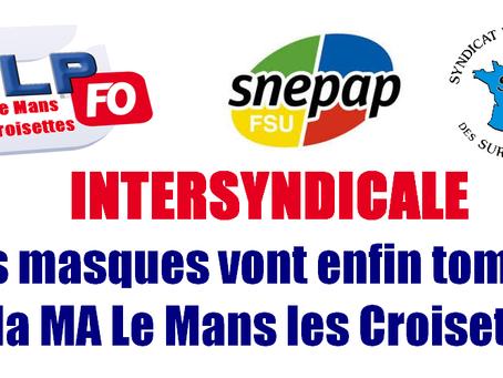 Prison du Mans-Les Croisettes : Intersyndicale en réponse à l'Ufap