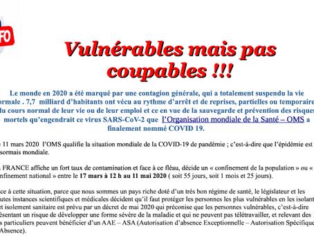 Prison de Valence : Vulnérable mais pas coupables !