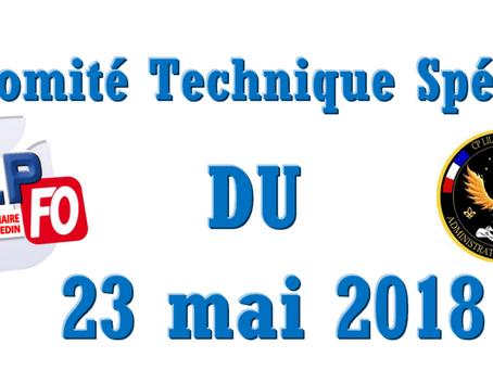 Prison de Sequedin : Comité Technique Spécial du 23 mai 2018