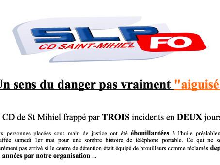 """Prison de Saint-Mihiel : Un sens du danger pas vraiment """"aiguisé"""""""
