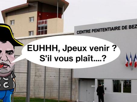 Prison de Béziers : Visite du mal aimé !!!