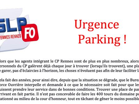 Prison pour femmes de Rennes : URGENCE PARKING !