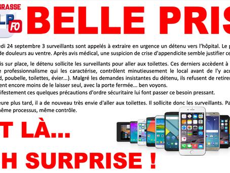 Prison de Grasse : Belle Prise lors d'une extraction à l'hôpital  !