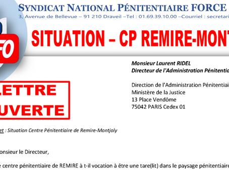 Situation du CP de Rémire-Montjoly : Lettre Ouverte au Directeur de l'Administration Pénitentiaire