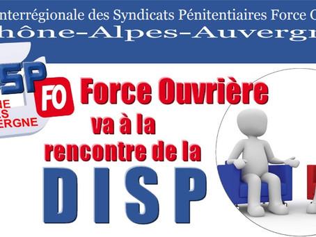 UISP-FO Rhône-Alpes-Auvergne : Force Ouvrière à la rencontre de la DISP