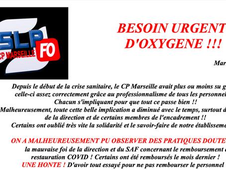 Prison de Marseille : Besoin Urgent d'Oxygène !