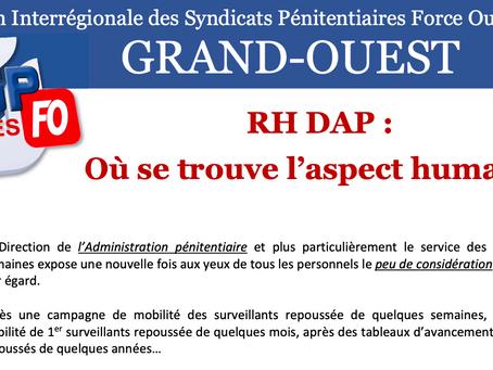 UISP-FO Rennes : RH DAP : Ou se trouve l'aspect humain.