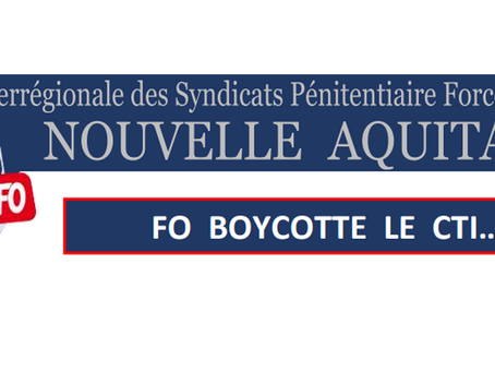 Bordeaux : Boycotte du Comité Technique Inter-Régional