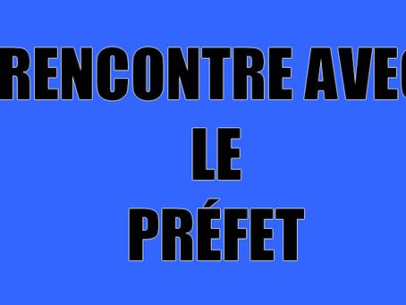 Prison de Nancy-Maxeville : Rencontre avec le Préfet