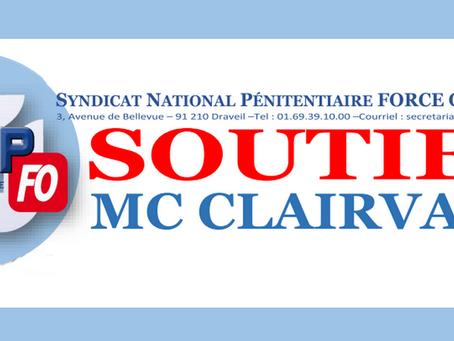 Soutien MC Clairvaux : NON À LA FERMETURE !!!