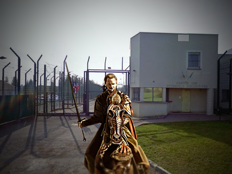 Prison d'Écrouves : Le retour du Roi