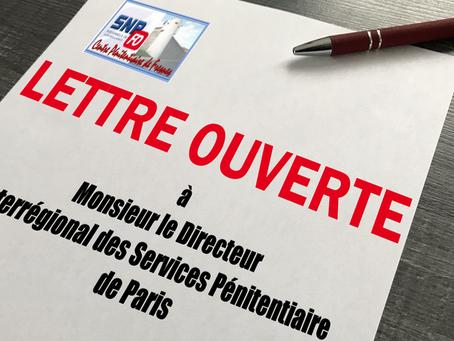 Prison de Fresnes : Lettre ouverte à Monsieur le Directeur Interrégional des Services Pénitentiaire