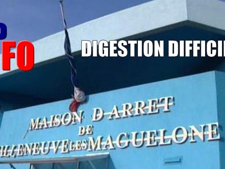 Prison de Villeneuve-les-Maguelone : Digestion difficile !!!